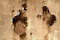 Metal Texture Aged Rust Close Up Stock Photos