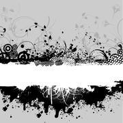 Decorative grunge - stock illustration