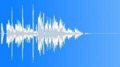 Futuristic phone interface SMS MMS message alert, OS start notification 0404 Sound Effect