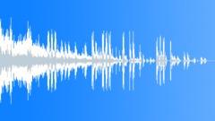 Futuristic interface SMS MMS message sound alert, OS start notification  0406 Sound Effect