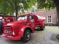 Dutch Oil transporter. DAF Stock Photos
