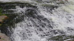 River rapids close up Stock Footage