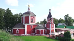 The Church of the Assumption of the Blessed Virgin Mary (in 4k), Suzdal, Russia. Stock Footage
