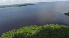 Stock Video Footage of The Amazon Jungle and the Rio Negro in Amazon, Brazil