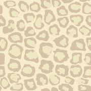 Leopard Seamless Spotted Background, Leopard Texture - Vector - stock illustration