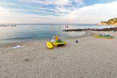 Flashes of summer holidays Stock Photos