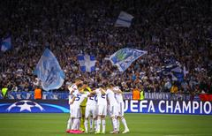 UEFA Champions League game Dynamo Kyiv vs Porto - stock photo
