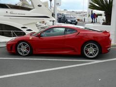 Ferrari F430 Coupe Stock Photos