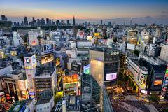 Shibuya Skyline Kuvituskuvat
