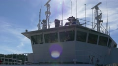 Ferry bridge Stock Footage
