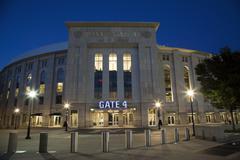 Yankee Stadium in the Bronx New York Kuvituskuvat