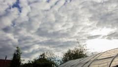 4k Sky TimeLapse With Clouds Stock Footage
