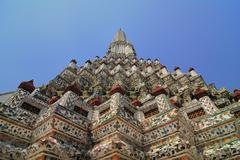 Wat arun temple of the dawn, Bangkok, Thailand - stock photo