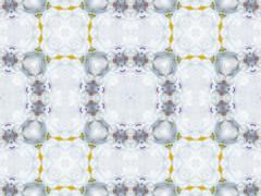 Abstract decorative background kaleidoscope - stock illustration