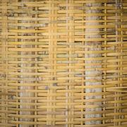 Bamboo woven background - stock photo