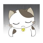 Cute cat character Stock Illustration