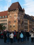 Nassau House in Nuremberg - stock photo