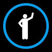 Assurance icon - stock illustration