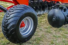 Agricultural equipment. Details 25 - stock photo