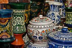 Romanian traditional ceramics 2 Stock Photos