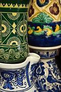 Romanian traditional ceramics 13 Stock Photos