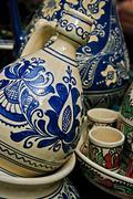 Romanian traditional ceramics 8 Stock Photos