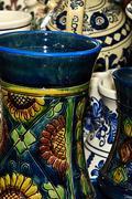 Romanian traditional ceramics 14 Stock Photos