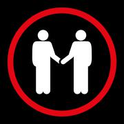 Stock Illustration of Handshake icon