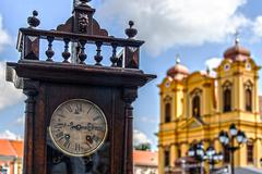Old clock and history 2 Stock Photos