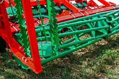 Agricultural equipment.Details 91 - stock photo