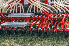 Agricultural equipment.Details 88 - stock photo
