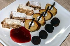 Arrangement of sweets 6 - stock photo