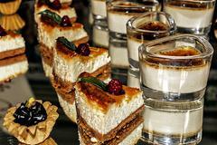 Arrangement of sweets 4 Stock Photos