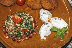 Arrangement of food 51 - stock photo