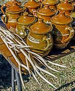 Traditional Romanian Ceramics 5 Stock Photos