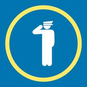 Police officer icon Stock Illustration