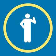 Proposal icon - stock illustration