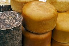 Specific cheese for Romania 5 Stock Photos