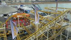 Brighton Pier - East Sussex 4K Stock Footage