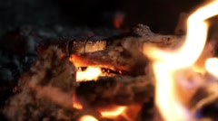 Ember fire Stock Footage