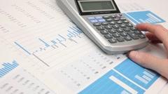 Business analysis - stock footage