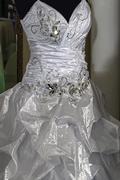 Wedding dress. Detail-45 - stock photo