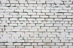 Vintage white background brickwall Stock Photos