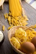 Macaroni Pasta - stock photo