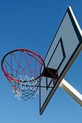 Panel basketball hoop-4 - stock photo