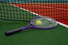 Tennis Ball & Racket-3 Stock Photos