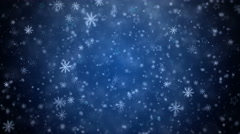 Winter Christmas background 4K - stock footage