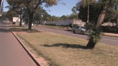 Lusaka International Airport, LUSAKA, ZAMBIA Stock Footage