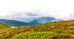 Montenegrin ridge in Carpathians Stock Photos