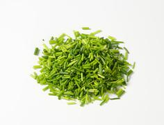 Chopped chives - stock photo